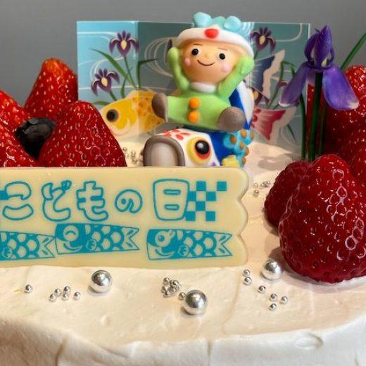 こどもの日ショートケーキ